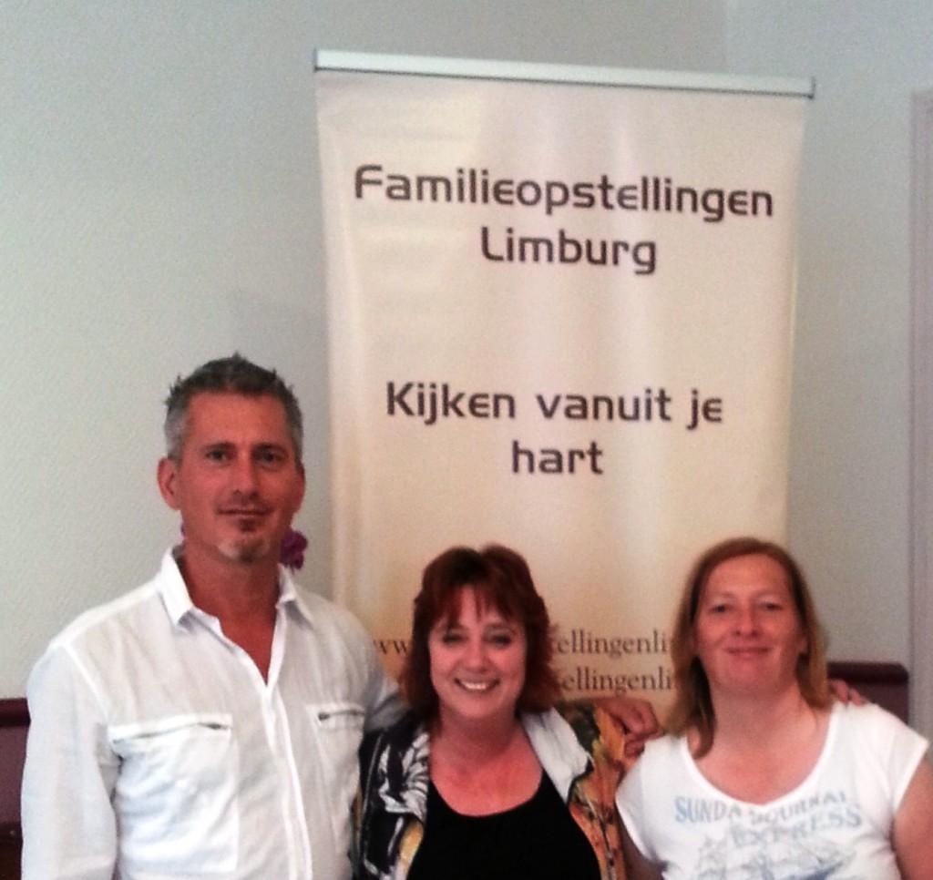 Familieopstellingen Limburg, Familieopstellingen Zuid Limburg, Rogier, Mirella, Monique  www.familieopstellingenlimburg.nl